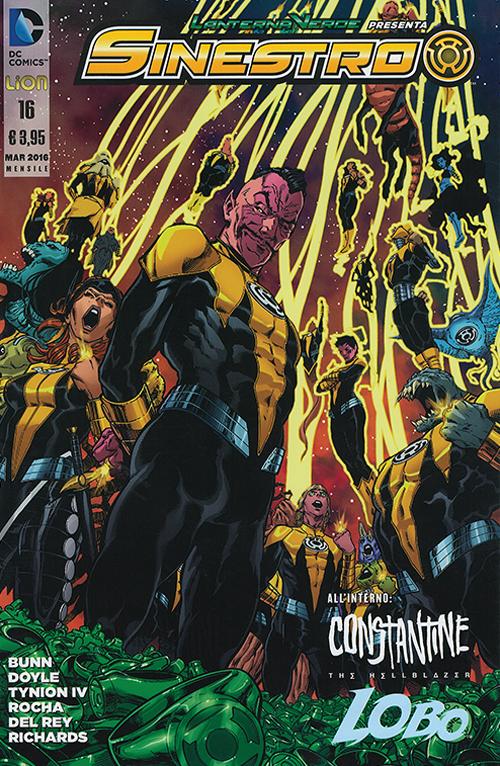 Lanterna verde presenta: Sinestro. Vol. 16.