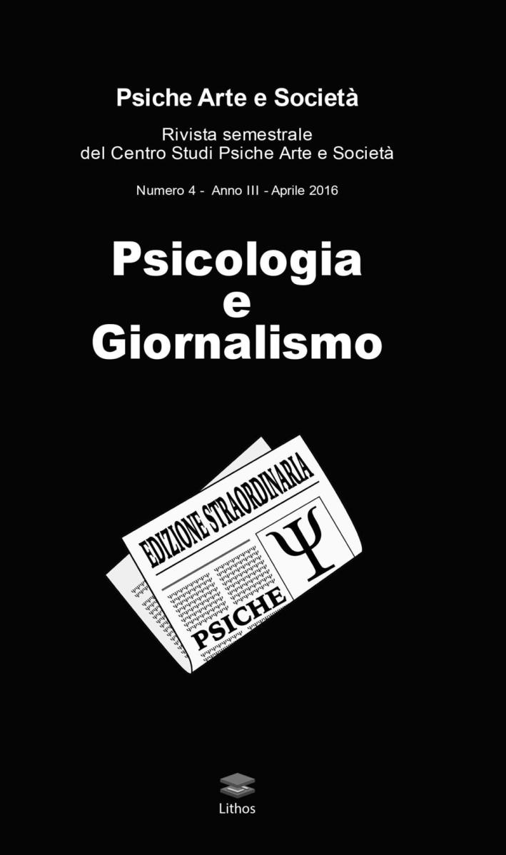 Psicologia e giornalismo.
