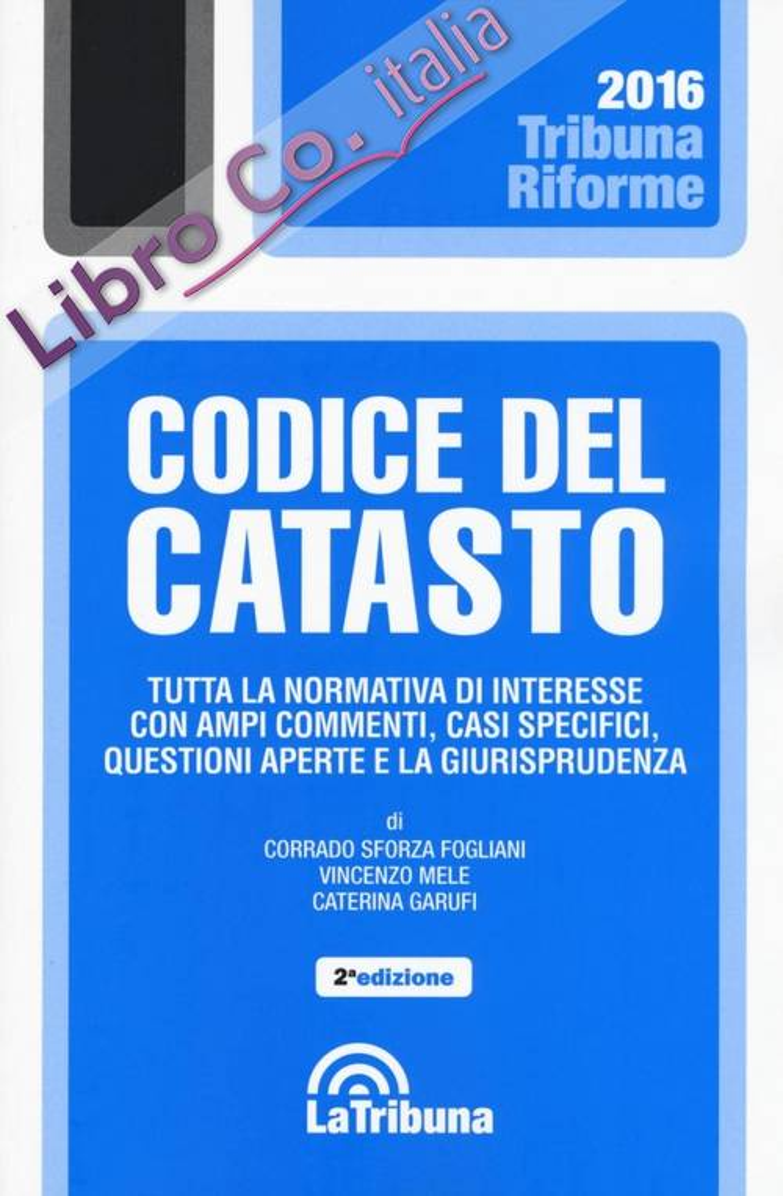 Codice del Catasto.