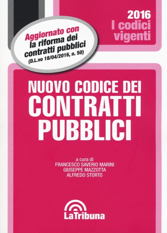Codice dei Contratti Pubblici.