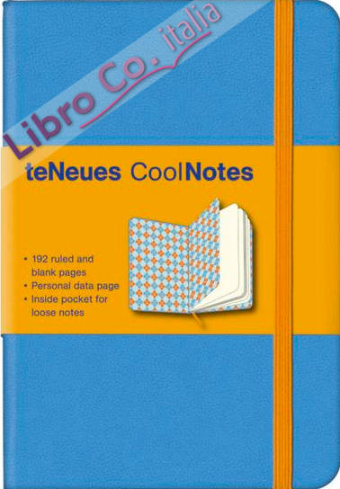 Coolnotes (Small): Light Blue/Argyle Blue.