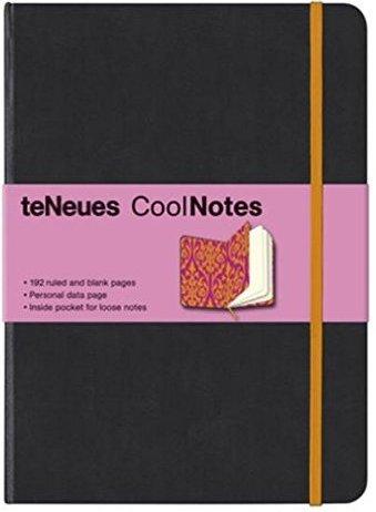 CoolNotes. Black/Victorian Orange