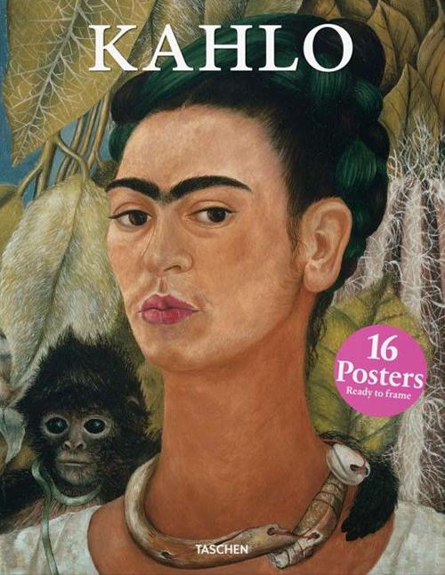 Print set Frida Kahlo.