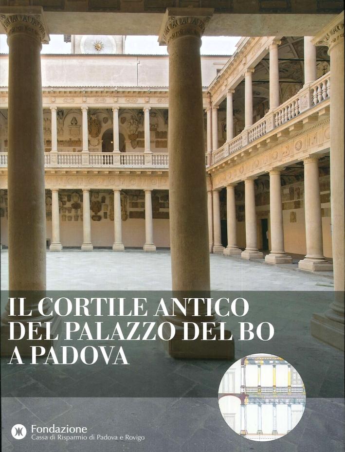 Il Cortile Antico del Palazzo del Bo a Padova.