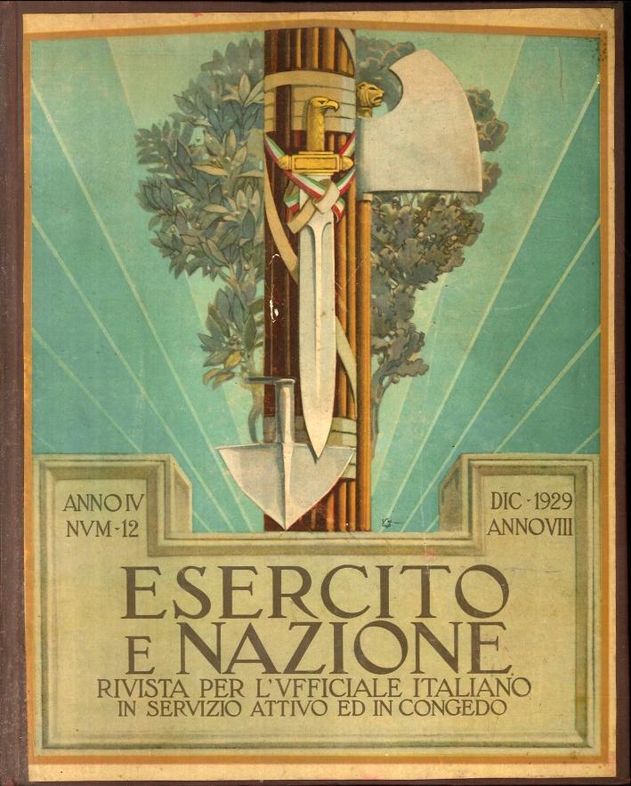 Belle copertine a colori disegnate da VITTORIO GRASSI. All'interno fotografie, piantine anche ripiegate, notizie militari e di guerra. discorsi ecc.