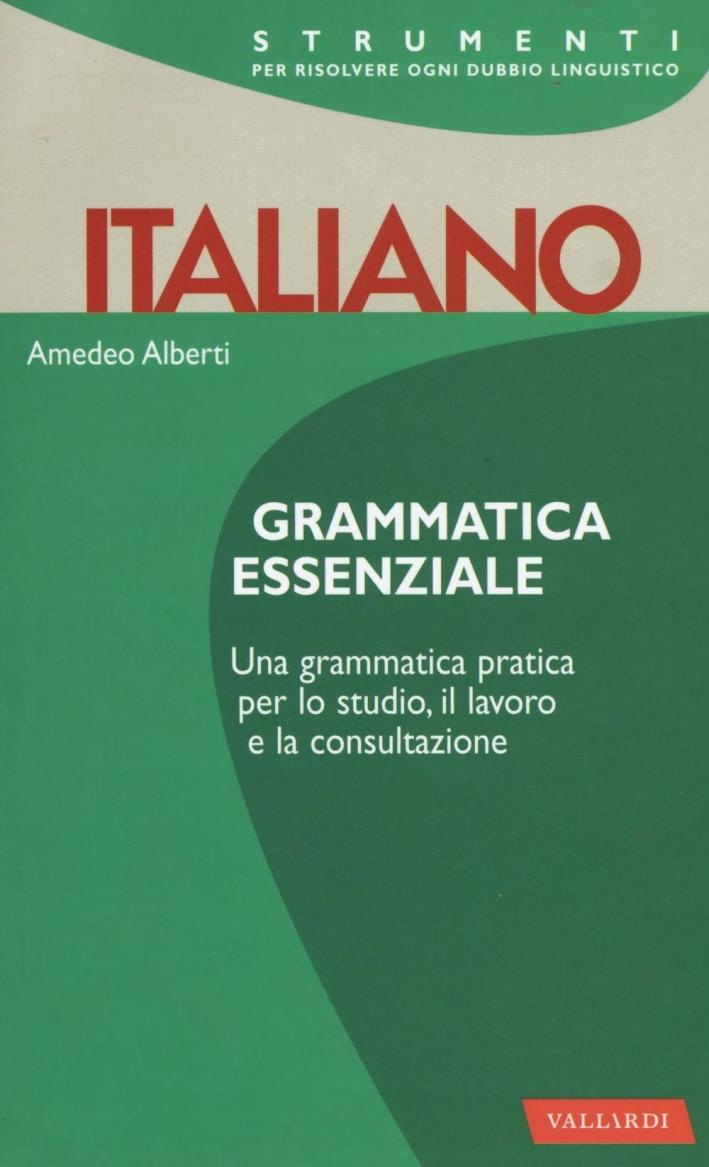 Italiano. Grammatica essenziale.
