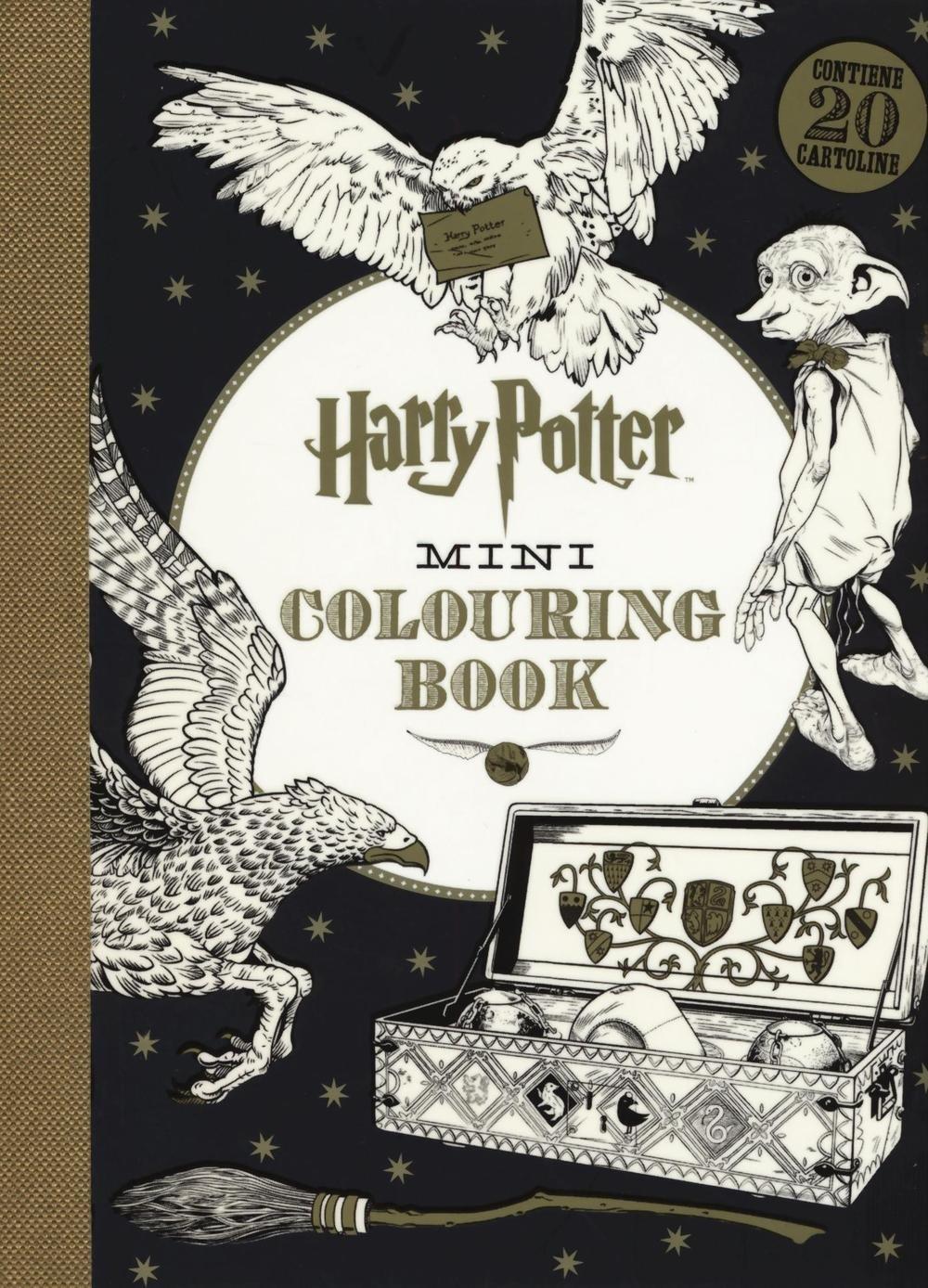 Harry Potter mini colouring book. Ediz. illustrata