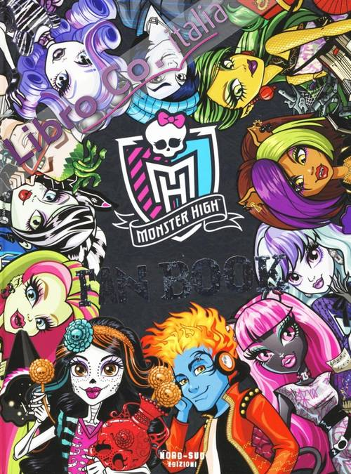 Fan book. Monster High
