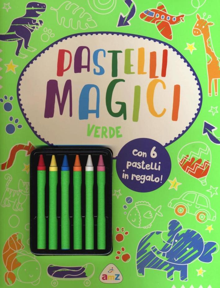 Pastelli Magici (Verde). Con Gadget
