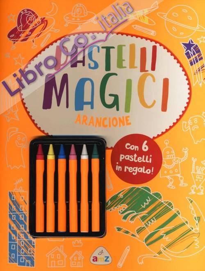 PASTELLI MAGICI ARANCIONE.