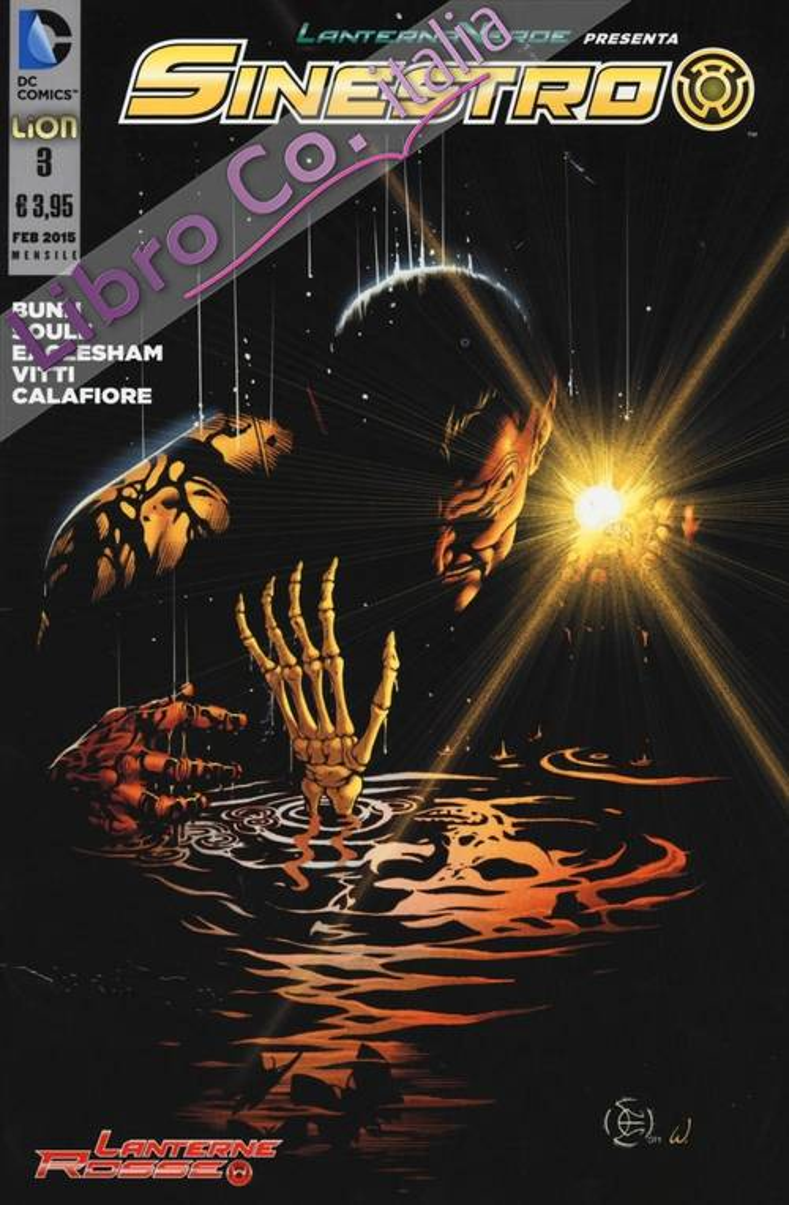 Lanterna verde presenta: Sinestro. Vol. 3.
