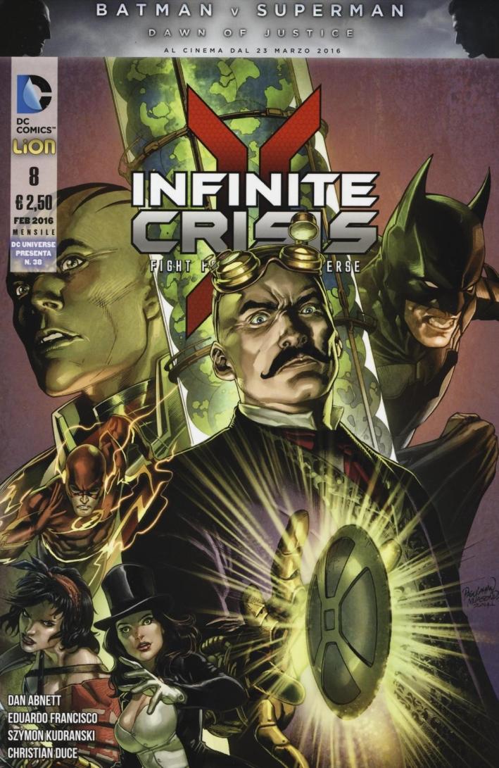 Infinite crisis. Fight for multiverse. Vol. 8