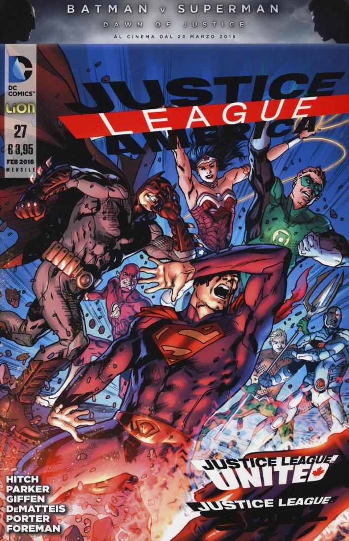 Justice league. America. Vol. 27