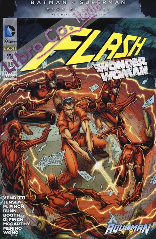 Flash. Wonder woman. Vol. 28