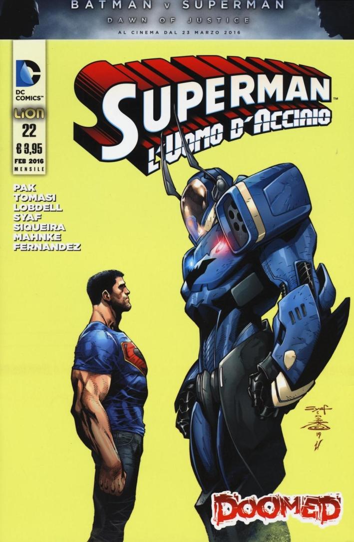 L'uomo di acciaio. Superman. Ediz. illustrata. Vol. 22