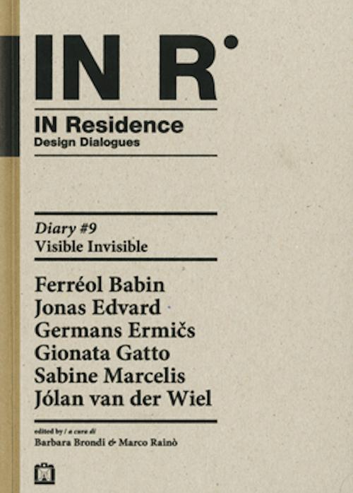 IN R. In residence. Diary. Vol. 9.