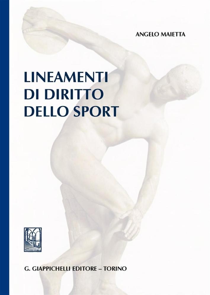 Lineamenti di diritto dello sport.