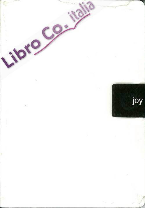 Joy. Ecological Joy Notes. Taccuino con Clip Magnetica. White-bianco