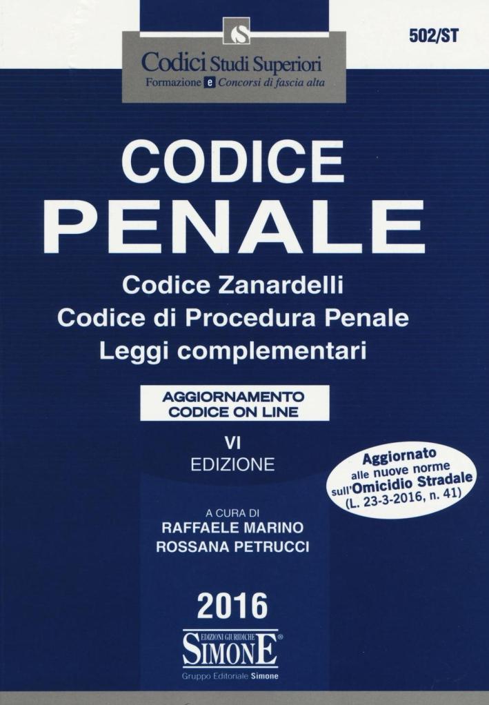 Codice penale.