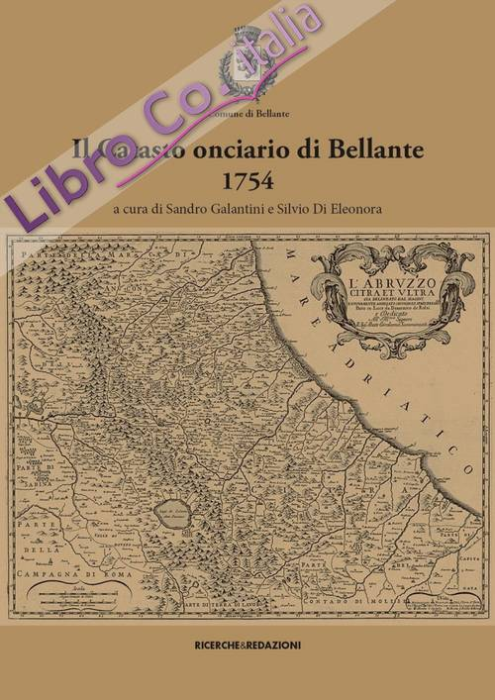 Il Catasto Onciario di Bellante, 1754.