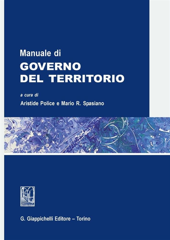 Manuale di governo del territorio.