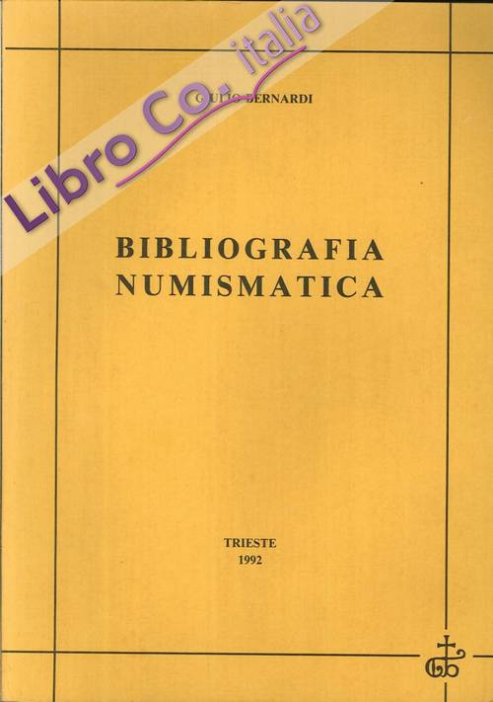 Bibliografia numismatica.