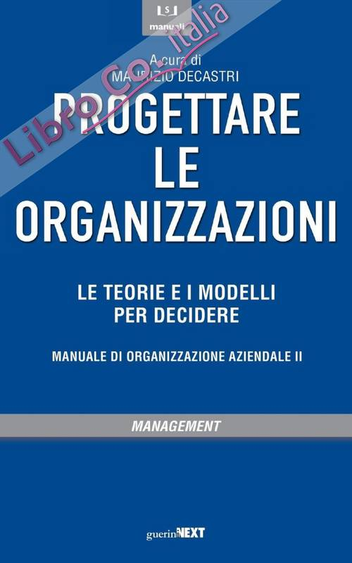 Proteggere le Organizzazioni.