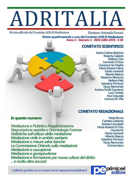 Adritalia. Vol. 1.