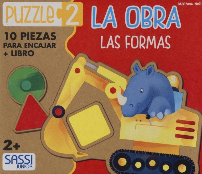La obra. Las formas. Libro puzzle. Ediz. illustrata
