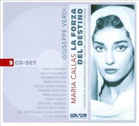 Giuseppe Verdi. La Forza del Destino. Maria Callas. 3 CD.