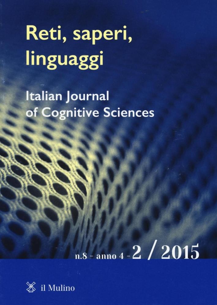 Reti, saperi, linguaggi (2015). Vol. 2