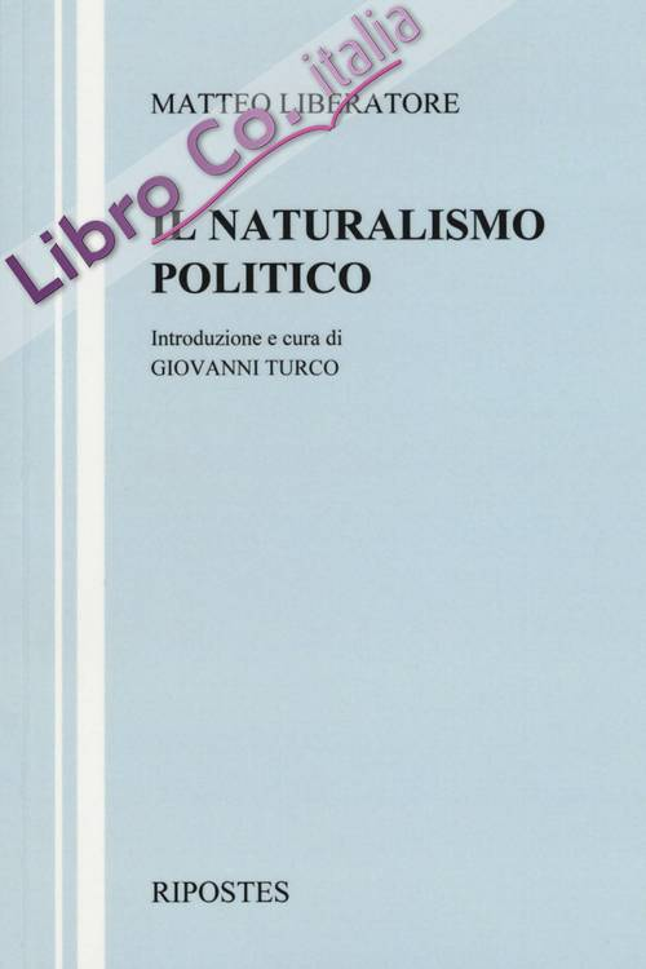 Il naturalismo politico.