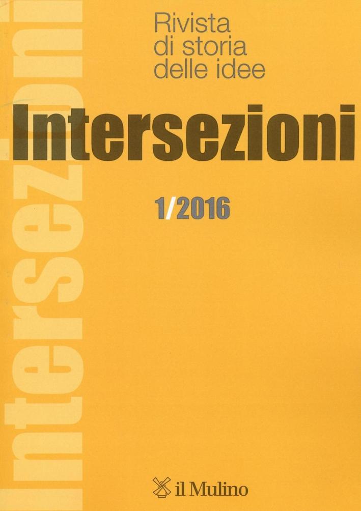 Intersezioni (2016). Vol. 1.