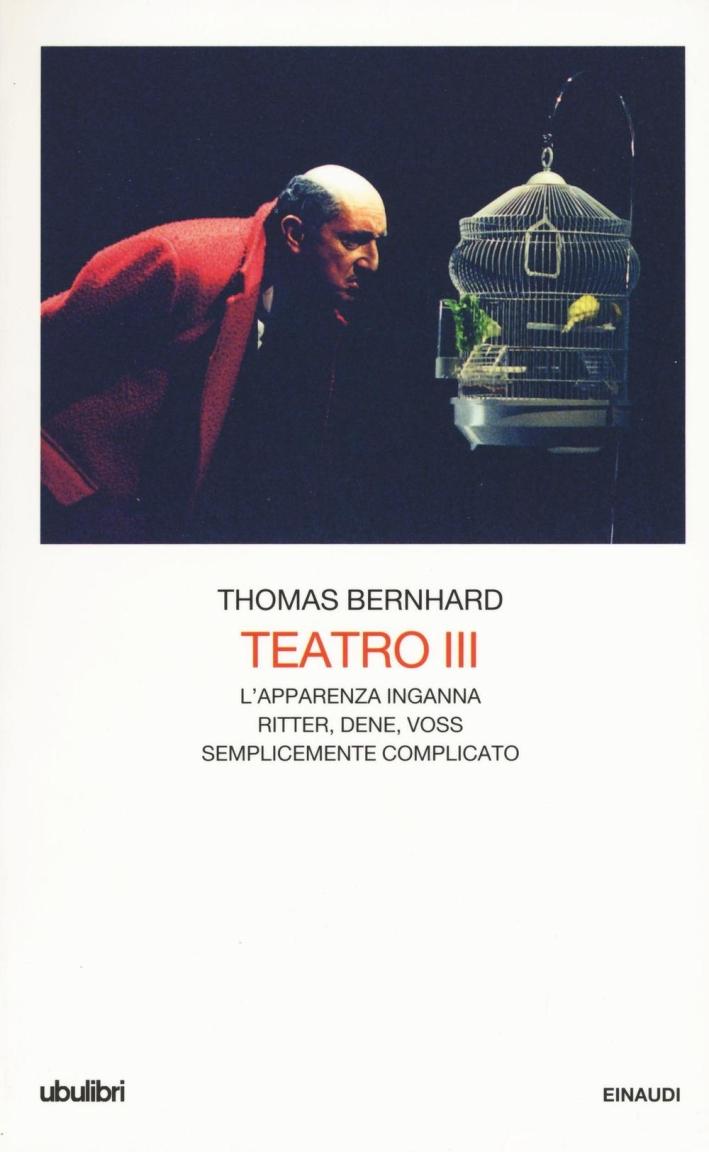 Teatro. Vol. 3.