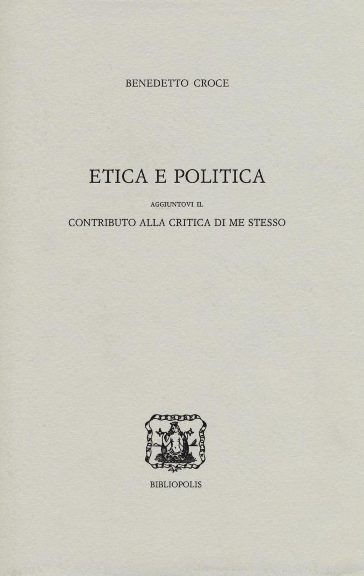 Etica e politica.
