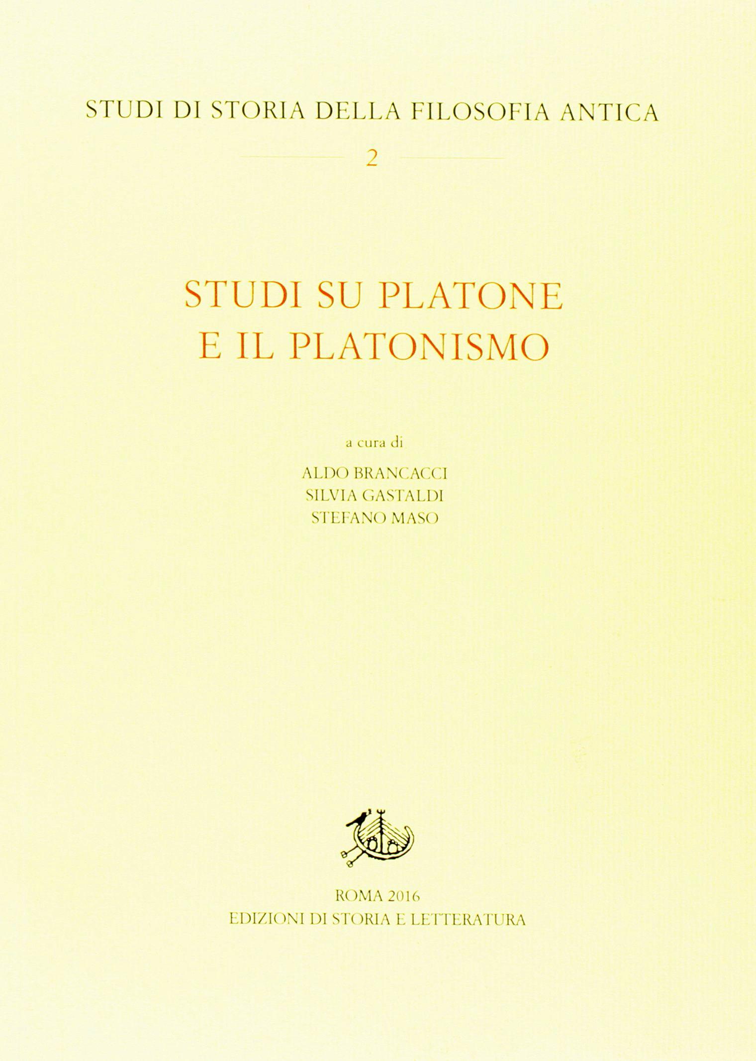 Studi su Platone e il platonismo