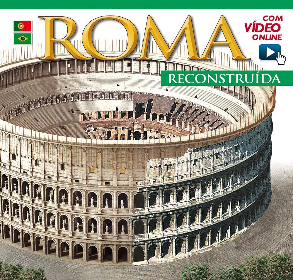 Roma ricostruita maxi. Ediz. portoghese. Con DVD