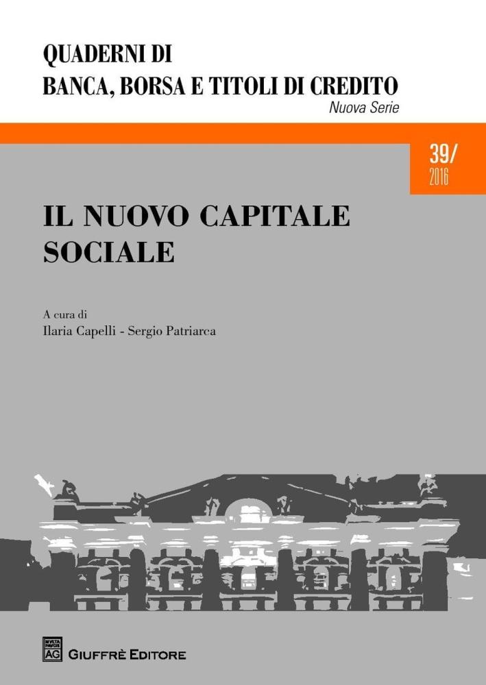Il nuovo capitale sociale