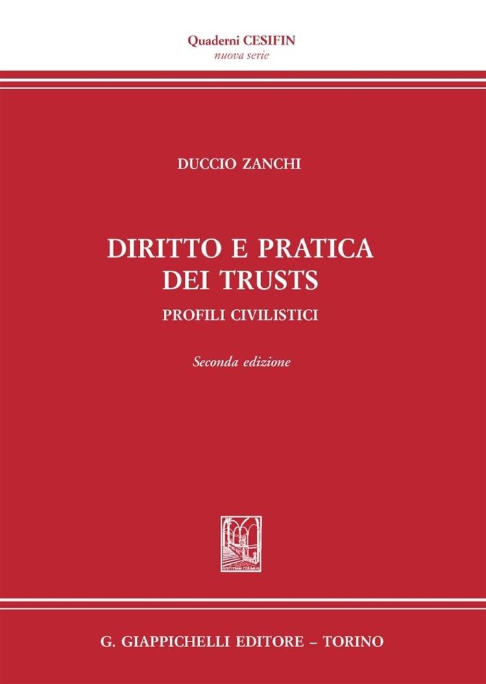 DIRITTO PRATICA DEI TRUSTS.