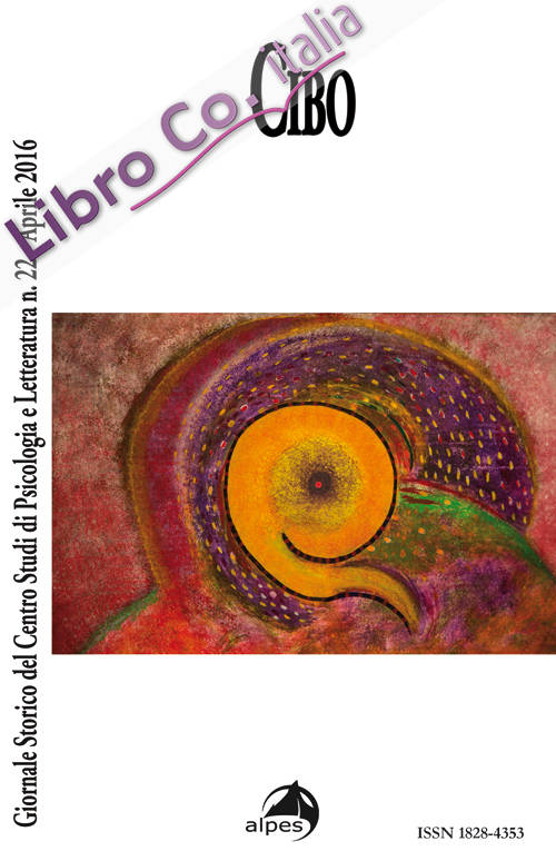 Giornale storico del centro studi di psicologia e letteratura. Vol. 22: Cibo