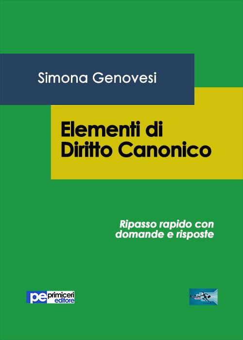 Elementi di diritto canonico.