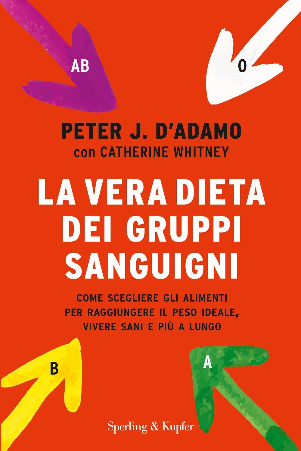 La dieta dei gruppi sanguigni. Come scegliere e abbinare gli alimenti.