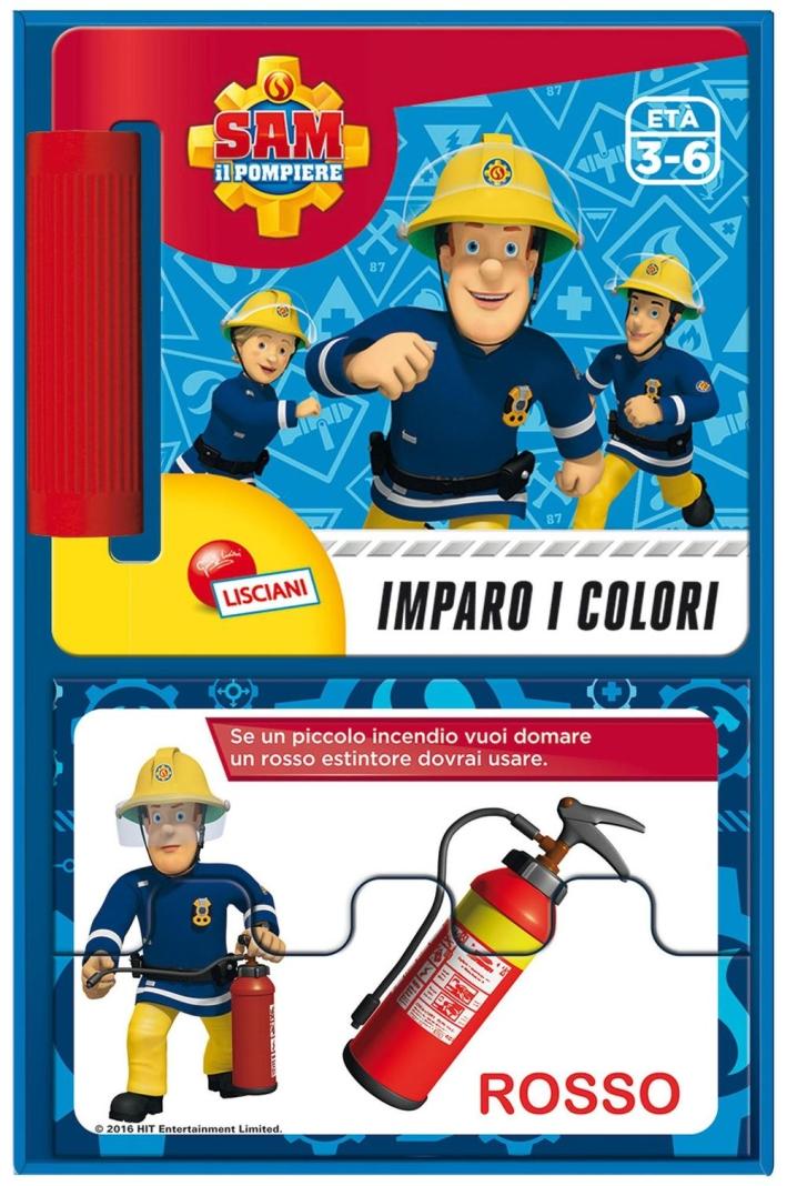 Sam il pompiere. Librogioco imparo i colori.