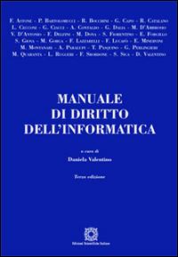 Manuale di diritto dell'informatica.