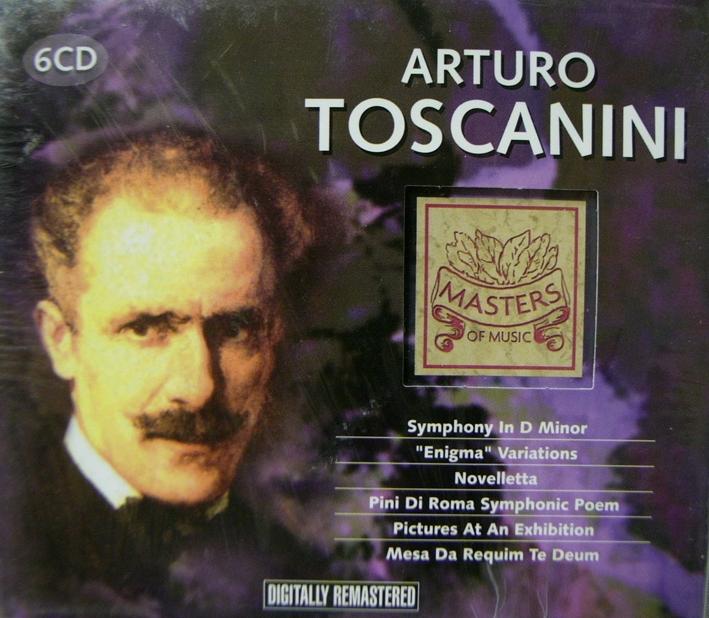 Arturo Toscanini 6 CD.