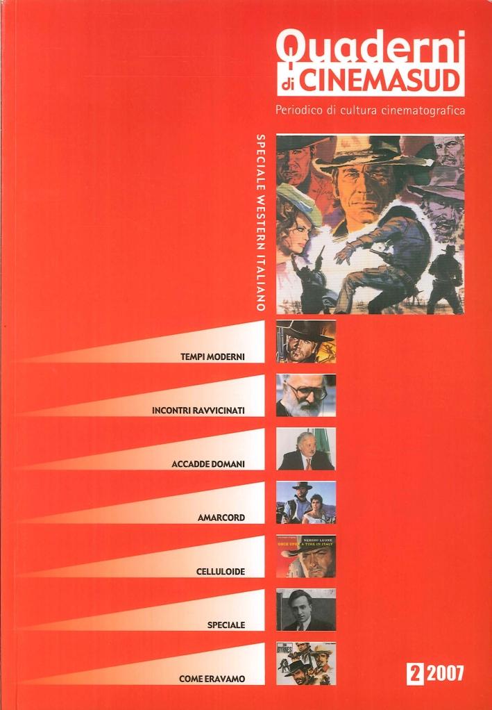 Quaderni di Cinemasud. Periodico di Cultura Cinematografica. Speciale Western Italiano. 2/2007.