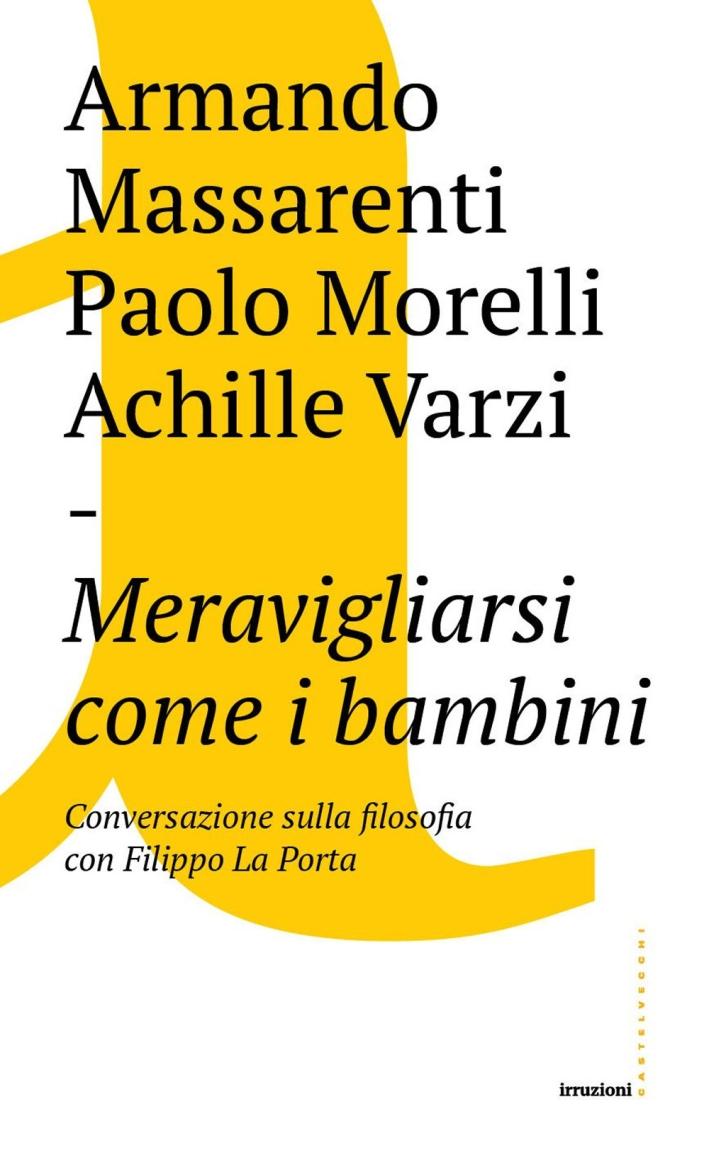 Cosa significa filosofare oggi? Conversazione con Filippo La Porta.