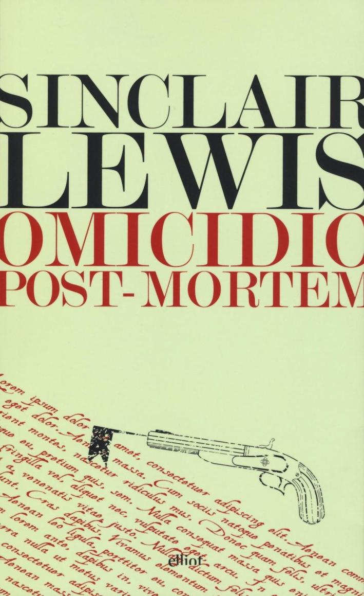 Omicidio post-mortem.