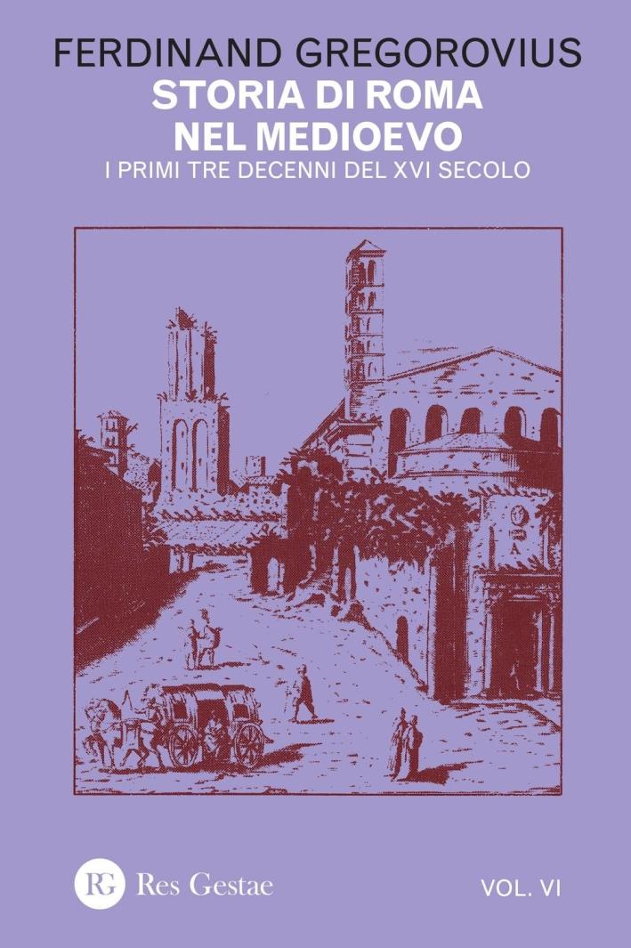 Storia di Roma nel Medioevo. Vol. 6.