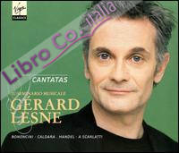 Gerard Lesne. French & Italian Cantatas. CD.